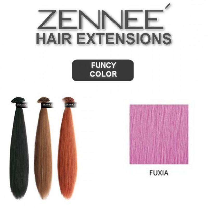 Hair Extensions 50cm  Color FUXIA
