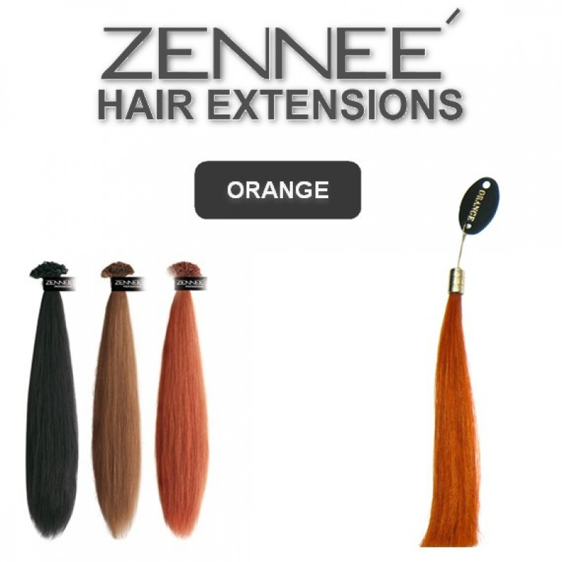 Hair Extensions 50cm  Color ORANGE