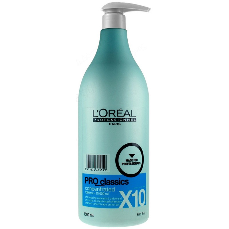 L'Oreal Pro Classics Shampoo Concentrated 1500ml