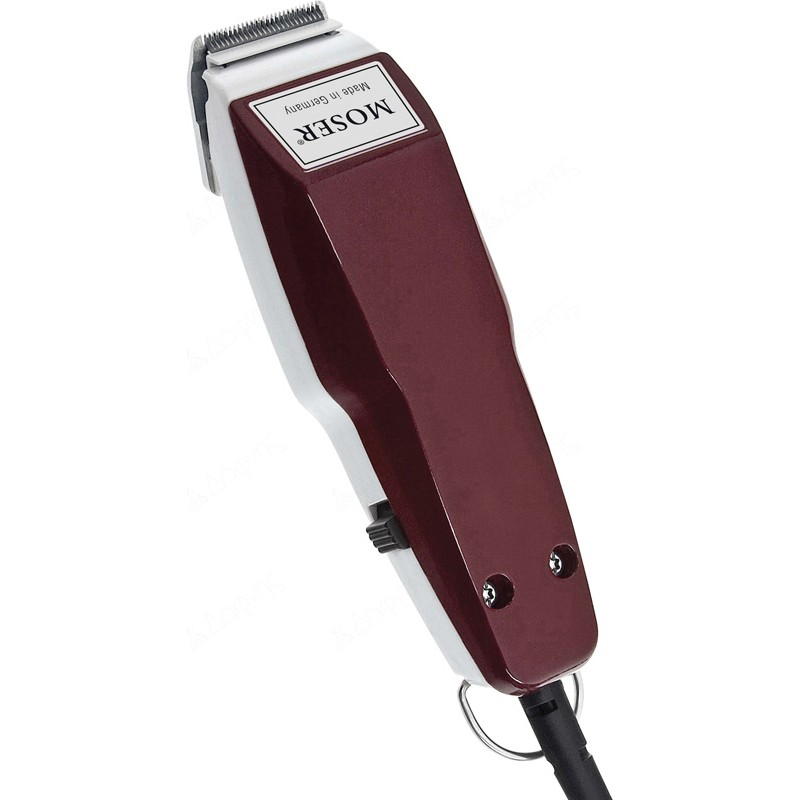 Moser 1411-0050 Mini Profiline  Red / White Trimmer