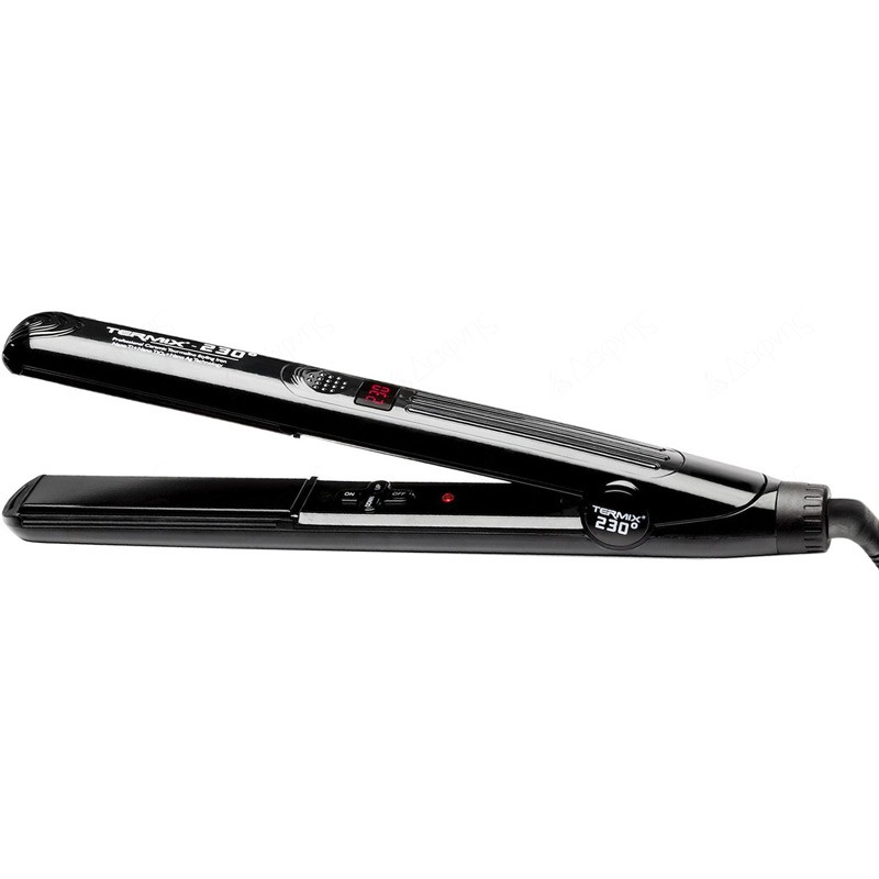 Termix 230 Styling Iron Black Edition Πρέσα Ισιώματος Μαλλιών 27mm
